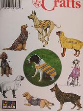 SEWING PATTERN S9520 LARGE SIZE DOG CLOTHES BATHROBE COAT T-SHIRT VEST UNCUT