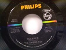 "THE SINGING NUN ""DOMINIQUE / ENTRE LES ETOILES"" 45 NEAR MINT"