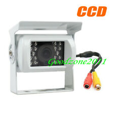 White  18 LED IR CCD Car rear view Reversing Camera Waterproof + 10m Video Cable