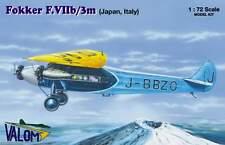 Valom 1/72 Kit Modelo 72071 Fokker F.Vib/3m en japonés y marcas Italiana