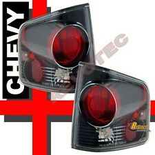 1994-2004 Chevy S10 GMC Sonoma Pickup Truck Black Tail Lights Lamps