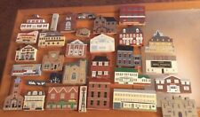 The Cats Meow Village 31 Piece Lot Historical Landmarks, Buildings, Accessories