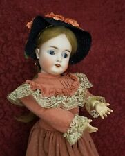 """Antique German Bisque Socket Head Doll Queen Louise Jointed Body Nice 26"""""""