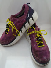 Hoka One One Conquest Womens 10 Running Athletic Shoes Clover/Mulberry Purple