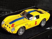 PINK KAR FERRARI 250 GTO  YELLOW #6  1:32 NEW OLD STOCK BOXED