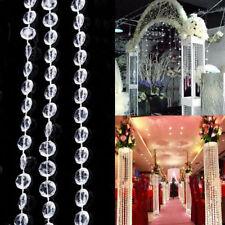 **5M GUIRLANDE DE DIAMANT PERLES**décoration mariage baptême , vase,table .