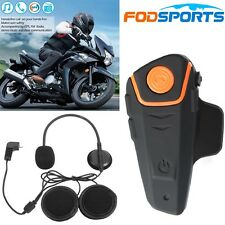 1000m BT-S2 Motorrad Bluetooth Helmet Headsets BT Interfon Gegensprechanlage+FM