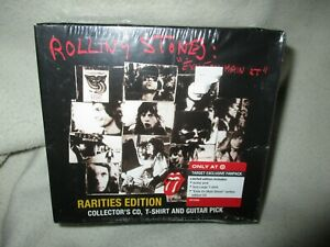 Rolling Stones Exile on Main Street Rarities Box with T shirt & Pick
