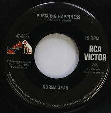 Country 45 Norma Jean - Pursuing Happiness / It Wasn'T God Who Made Honky Tonk A