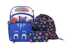 PJ Masks 5 Piece Backpack Set Brand New