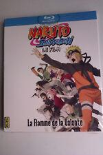 "BLU-RAY ""Naruto Shippuden - La Flamme De La Volonté"" (Le Film) NEUF SOUS BLISTER"