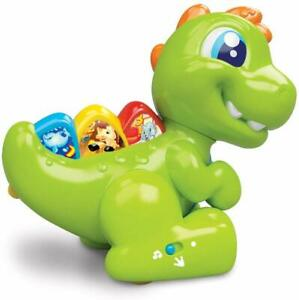 NEW Clementoni Baby - Baby T Rex Speaks  Sings  Moves  Walks Talks Green or Pink