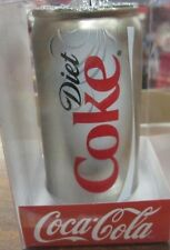 Coca Cola Ornament Glass Diet Coke Can - Kurt Adler   NIP