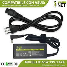 Caricabatterie compatibile con Asus Zenbook UX21A UX31 UX31A 19V 3.42A 65W