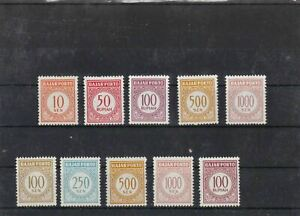 INDONESIA MOUNTED & MINT NEVER HINGED  POSTAGE DUES  & OFFICIAL STAMPS  REF 2060
