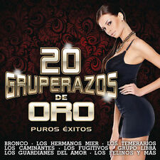Various Artists - 20 Gruperazos de Oro [New CD] SEALED