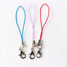 Cell Phone Lanyard Cords Strap Lariat Mobile Lobster Clasp DIY 10pc 20 Colors