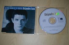 Alejandro Sanz – Quiero Morir En Tu Veneno. CD-Single PROMO