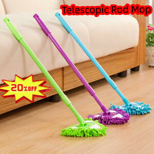 180 Degree Rotatable Adjustable Triangle Cleaning Mop Telescopic Rod Cleaning