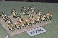 25mm roman era / roman - light infantry 16 figs - inf (10746)