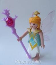 Playmobil HADA & Personal (Amarillo/Turquesa) Nueva Figura De Magia/Cuento De Hadas/Palacio conjuntos