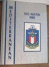 USS Austin  LPD-4   Marg 1-1989  USA Navy Naval Cruise Book 1989