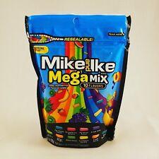 Mike and Ike Mega Mix Chewy Candies- 10 oz Bag - 10 Flavors - NIP