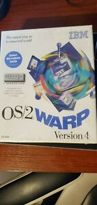 OS/2 Warp CD-Rom Version 4 w/ Microphone and BonusPak NEW IN BOX!!!