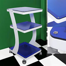 Portable Rolling Trolley Cart Beauty Salon Spa Equipment Organizer Stand 3 Layer