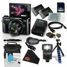 Canon PowerShot G7 X Mark II w/Accessories Bundle Digital Camera (1066C001) (Int