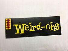 Hawk,Weird Ohs,Rat Fink,Model,Kustom Kulture,6x17 Alum.,Metal Sign