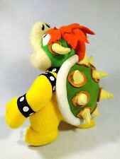 """Bowser Sanei 2003 Super Mario Party 5 Plush Stuffed Beanbag Toy Great Cond 11""""L"""