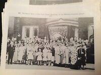 74-9 ephemera reprint picture crumlin zion chapel newbridge 1953