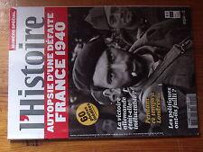 $$a Revue L'Histoire N°652 France 1940  Londres  Politiques  Victoire allemande