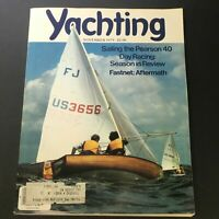 VTG Yachting Magazine November 1979 - Sailing The Pearson 40 Day Racing