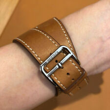 90% New Genuine Bracelet Apple HERMÈS Watch Strap Double Tour 38mm 40mm Leather