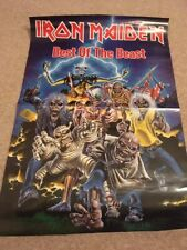 Iron Maiden: Best Of The Beast (Rare Original Record Company Promotional Poster