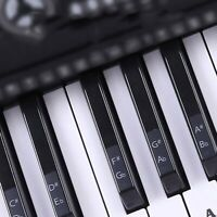 Music Keyboard Piano Sticker Transparent PVC 88/61/54/49 Keys For Beginner Newly