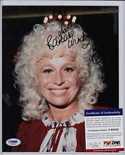 BARBARA WINDSOR SIGNED AUTOGRAPH AUTO 8X10 PSA DNA CERTIFIED