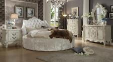 Bett 2x Nachttisch 3 tlg. Schlafzimmer Set Betten neu Luxus Chesterfield 180x200
