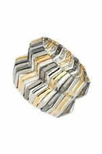 BNWT Topshop Zig Zag Section Stretch Bracelet Cuff, RRP £15