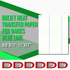 NEW Iron on Heat Transfer Paper Dark Colors shirt  B.L 50 sheets pack
