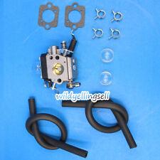 Carburetor for Wacker Bs50-2 Bs50-2i Bs60-2i Bs70-2i Walbro Hda 242 W/ Fuel Line