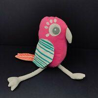 "Pillowfort Target Pink Toucan Plush Bird Gray Legs 8"" Stuffed Animal Pillow"