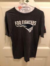Foo Fighters 2018 Boston Fenway Park Charcoal Dead Skull Tee Shirt Medium