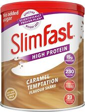High Protein Meal Replacement Powder Shake Caramel Temptation Flavour 12 Servin