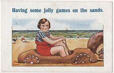 POSTCARD  COMIC  Seaside Theme