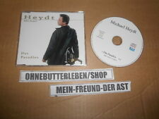 CD Schlager Michael Heydt - Das Paradies (1 Song) Promo 3W RECORDS
