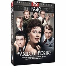 The Fabulous Forties: 50 Movies (DVD, 2012, 12-Disc Set) Brand New! SEALED!!