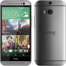 Silikon Hülle für HTC One M8 clear Slimcase + 2 Schutzfolien
